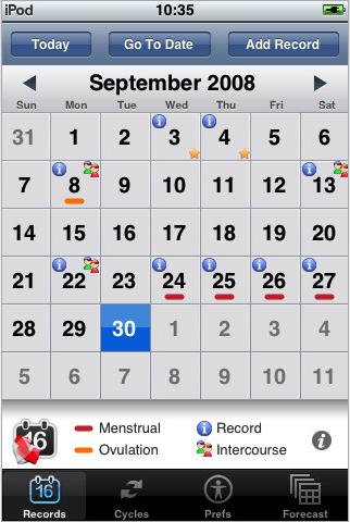 Woman-calendar