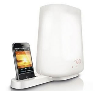 Light-alarm-iphone-dock