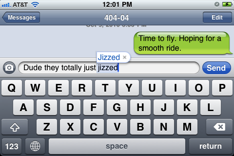 funny word. Jizz is such a funny word.