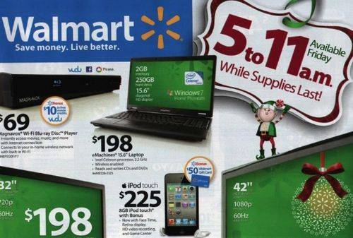 Walmart.com's prices may be either higher or lower  iPod Touch 4g - 421